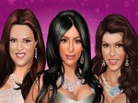 Kardashian Kardeşlere Makyaj