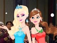 Karlar Ülkesi Prensesler Balo Hazırlığı