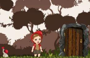 Kırmızı Başlıklı Kız Gizemli Orman