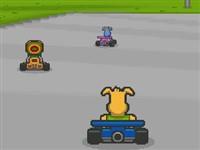 Köpek Araba Yarışı
