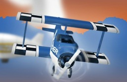Mavi Akrobasi Uçağı