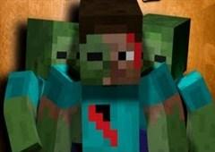 Minecraft Zombi Avı