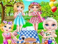 Minik Prensesler Park Partisi