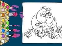 Moomin Boyama Kitabı