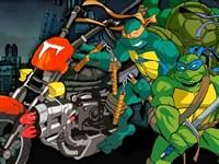 Ninja Kaplumbağalar Motor Yarışı