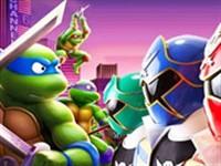 Ninja Kaplumbağalar Power Rangersa Karşı