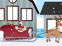 Noel Baba Hediye Arabası