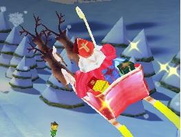 Noel Baba ile Hediye Dağıtma