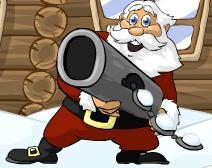 Noel Baba Kartopu Fırlatma