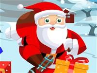 Noel Baba Paten Kayıyor