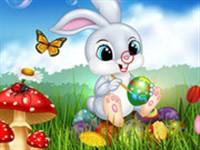 Paskalya Tavşanı Fark Bulmaca