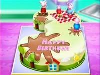 Peppa Pig Doğum Günü Pastası
