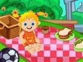 Piknik Yapan Bebek