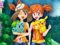 Pokemon Kızlarını Giydir