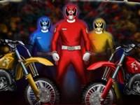 Power Rangers Motor Yarışı