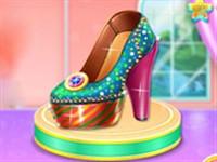 Prenses Ayakkabısı Dizaynı