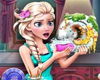 Prenses Elsa Bulaşık Yıkıyor
