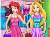 Prensesler Alışveriş Zamanı