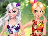 Prensesler Çiçek Partisi