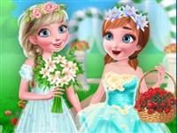 Prensesler Çiçekçi Kız