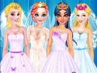 Prensesler Gelinlik Giydirme