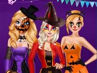 Prensesler Halloween Karnavalı