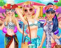 Prensesler Havuz Partisi Modası