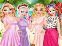 Prensesler Kumsalda Mezuniyet Partisi