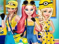 Prensesler Minion Stili