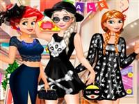 Prensesler Siyah Modası Alışverişi