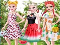 Prensesler Yaz Meyveleri Modası