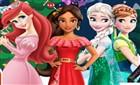 Prensesler Yeni Yıl Boyama Kitabı