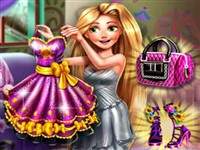Rapunzel Balo Hazırlığı