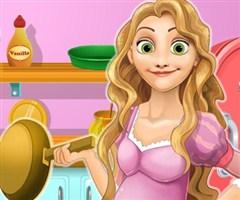 Rapunzel Çorba Yapıyor
