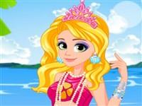 Rapunzel Deniz Kızı Tarzı