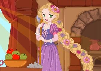 Rapunzel Ev Dekorasyonu