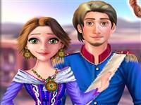 Rapunzel ve Flynn Parti Hazırlığı