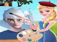 Ressam Elsa Frozen