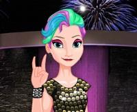 Rock Prensesi Elsa