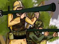 Roketatarlı Askerler