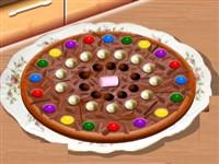 Saranın Çikolatı Pizza Tarifi