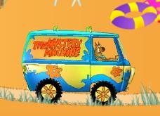 Scooby Doo Araba Sürüyor