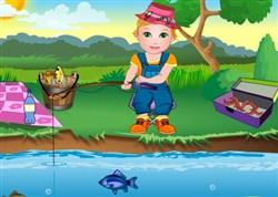 Şeker Bebek Balık Tutma