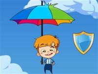 Şemsiyeli Çocuk