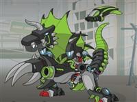 Süper Dino Robot Dövüşleri