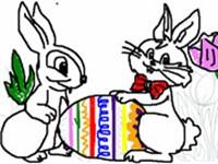 Tavşan Boyama