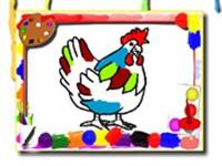 Tavuk Boyama Kitabı