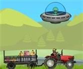 Uzaylı ve Traktör