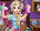 Yaralı Elsa Tedavi Etme
