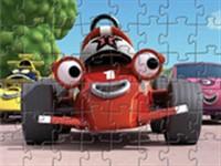 Yarış Arabaları Puzzle